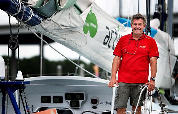 Hatfield 'ramps it up': Veteran solo skipper tied for second in Velux 5 Oceans