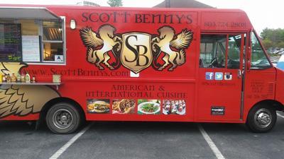 Scott Benny's food truck