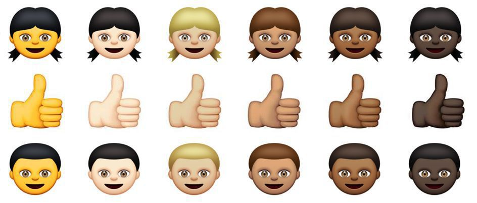 In Apple's latest update, emojis get diverse