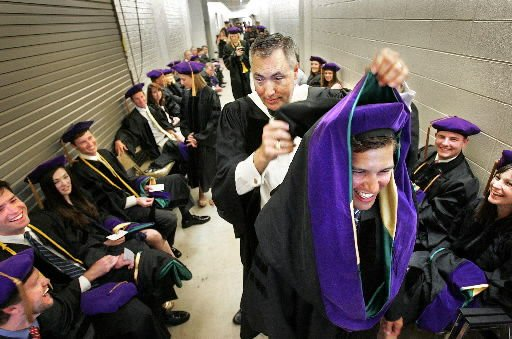 Be proud of profession, law school grads told