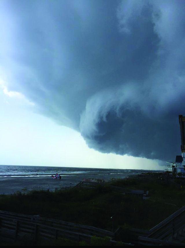 Severe weather strikes area