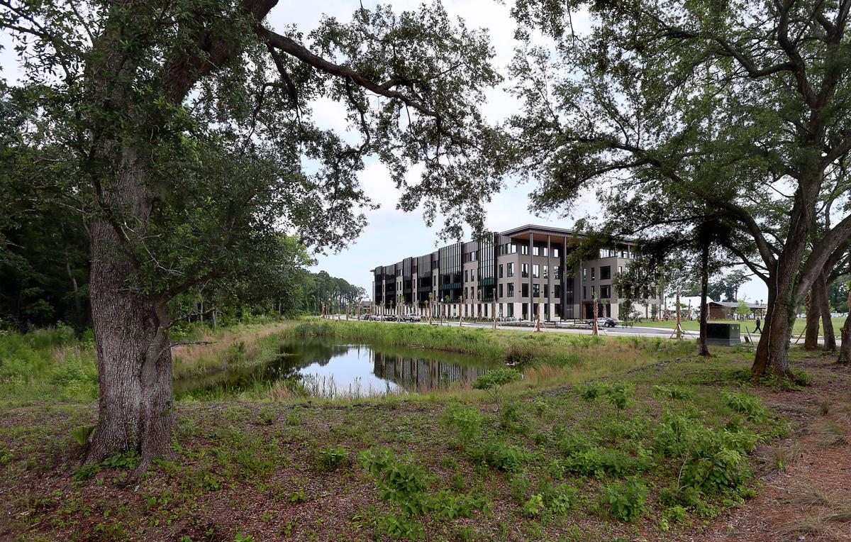 Blackbaud opens new world headquarters on Daniel Island ...