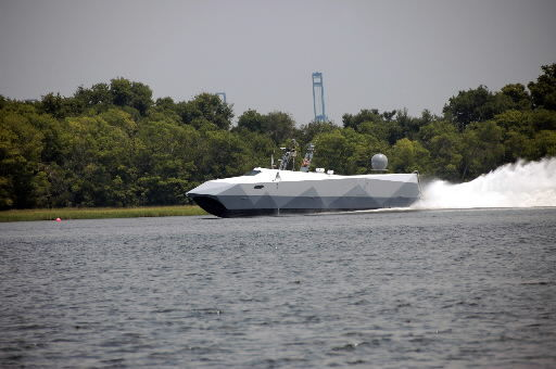 Department of Defense boat was in town for testing