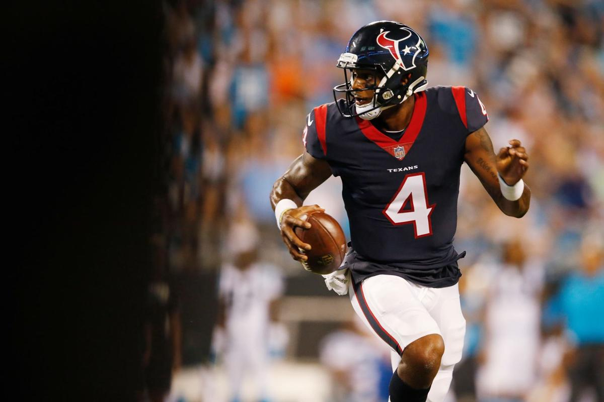 deshaun watson scores first touchdown of nfl career impresses in professional debut houston texans