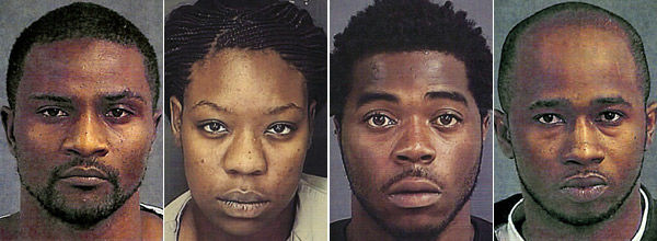 New charges filed against 4 in killing