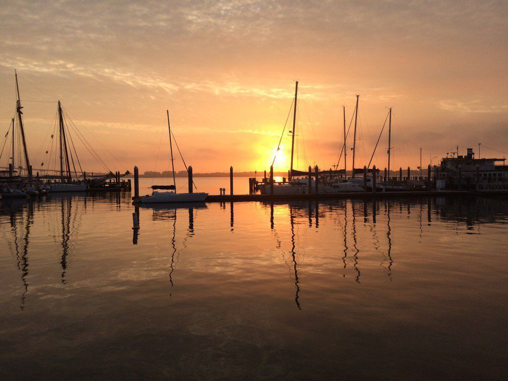 Foggy then sunny, high near 78 today in Charleston