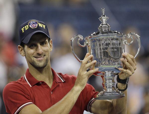 Djokovic takes first U.S. Open title
