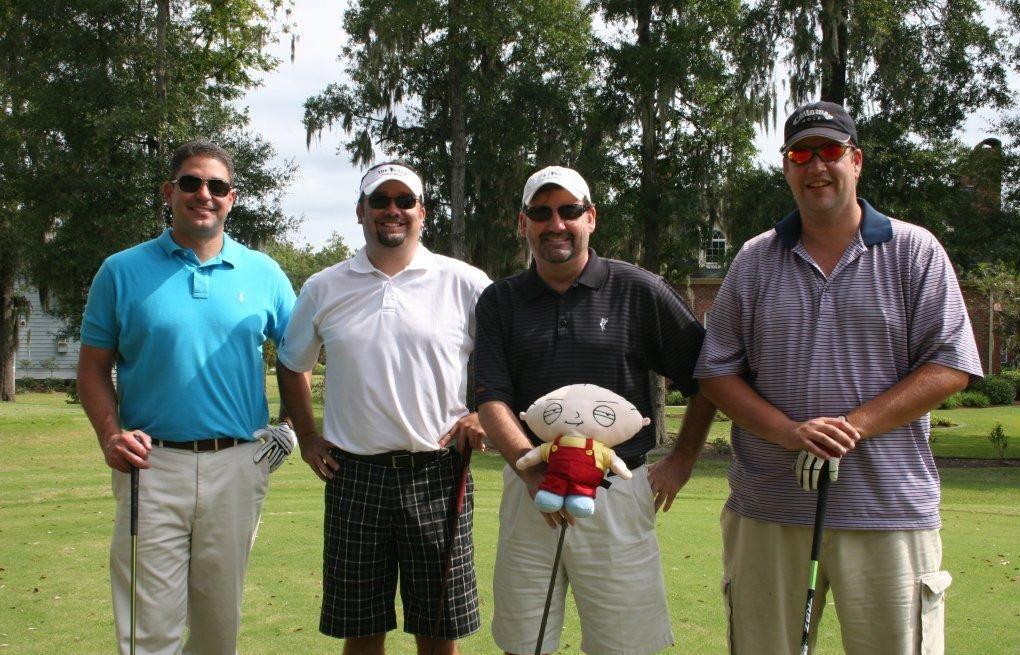 Local civic organization hosts golf tournament