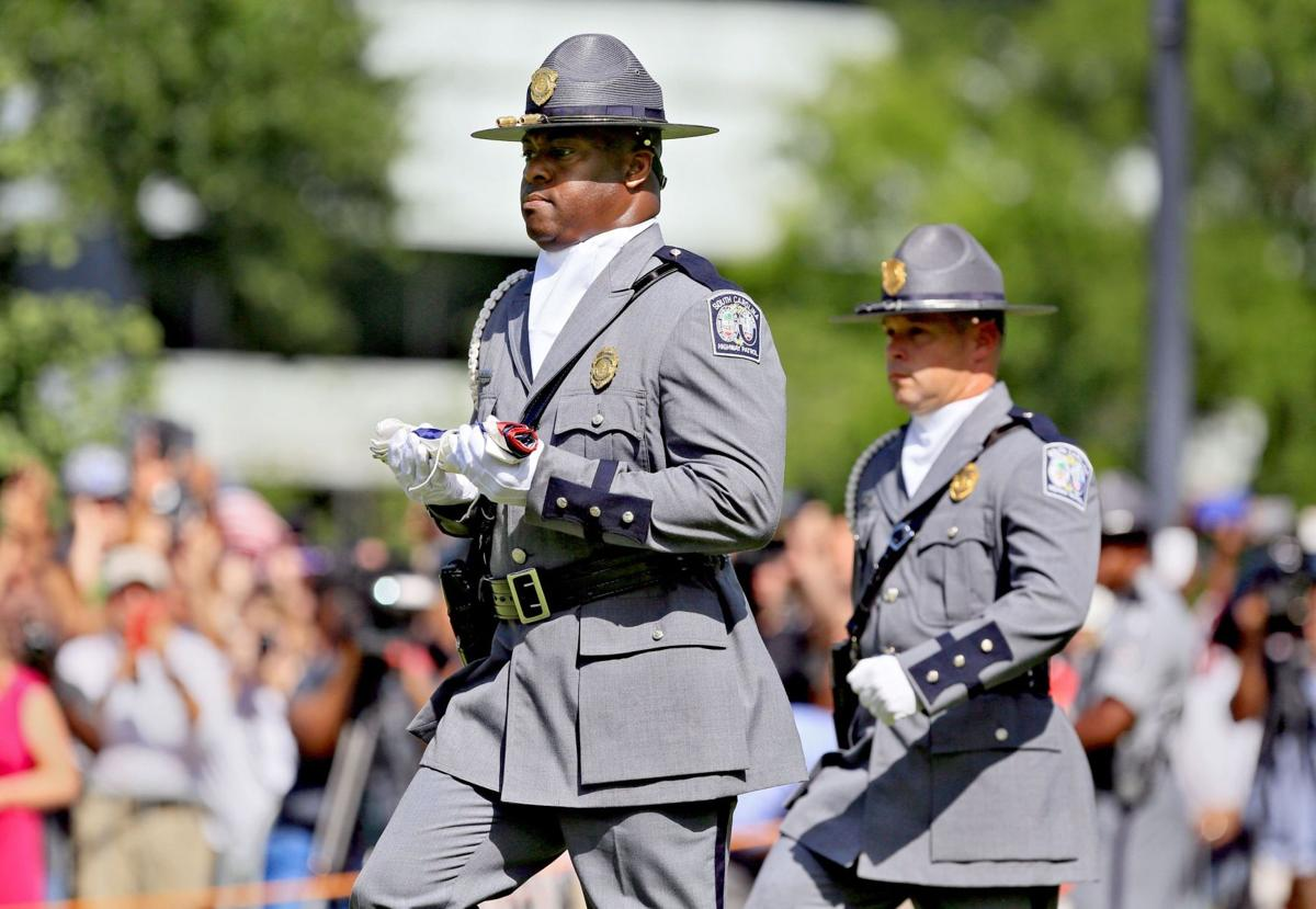 Ceremony was just 'another mission' for trooper