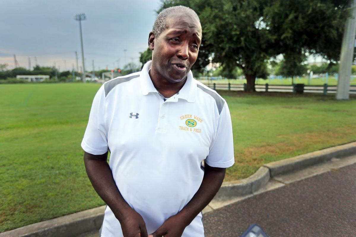 Local Olympian Raven Saunders' 'go-to person' Herbert Johnson more than a coach for Burke High grad