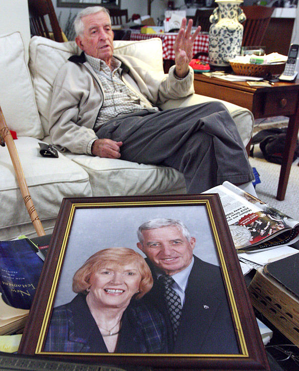 Wife's death fuels man's push for dog control