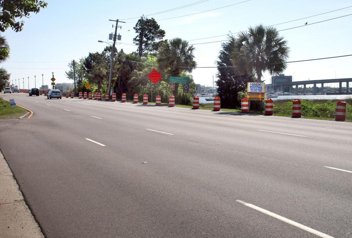What bike-lane-caused traffic?
