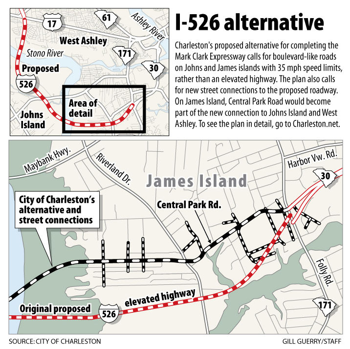 Charleston offers new plan for I-526