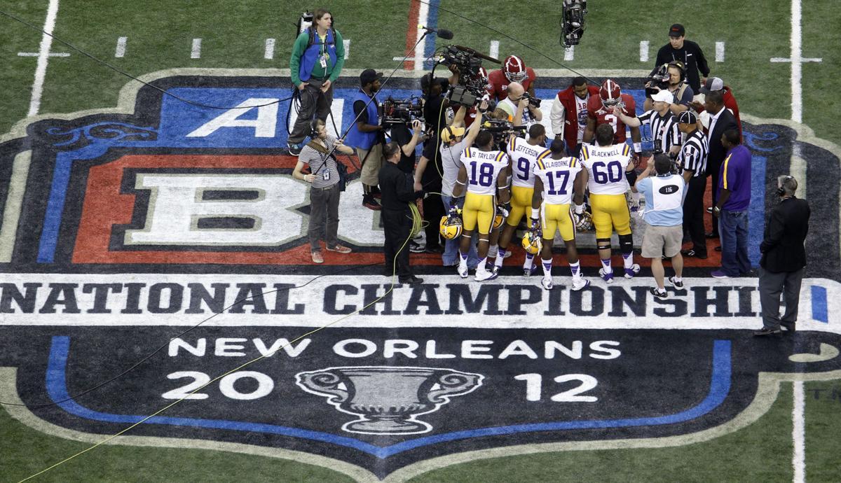 BCS National Championship College Football Game, LSU vs. Alabama
