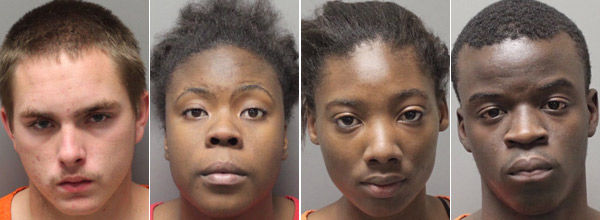 4 face charges in drug-slaying case