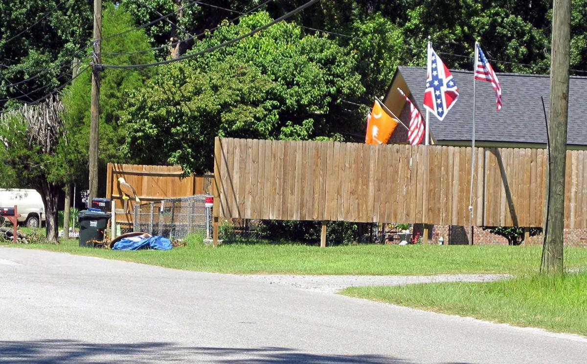 Confederate Flag Black Neighbors (copy)
