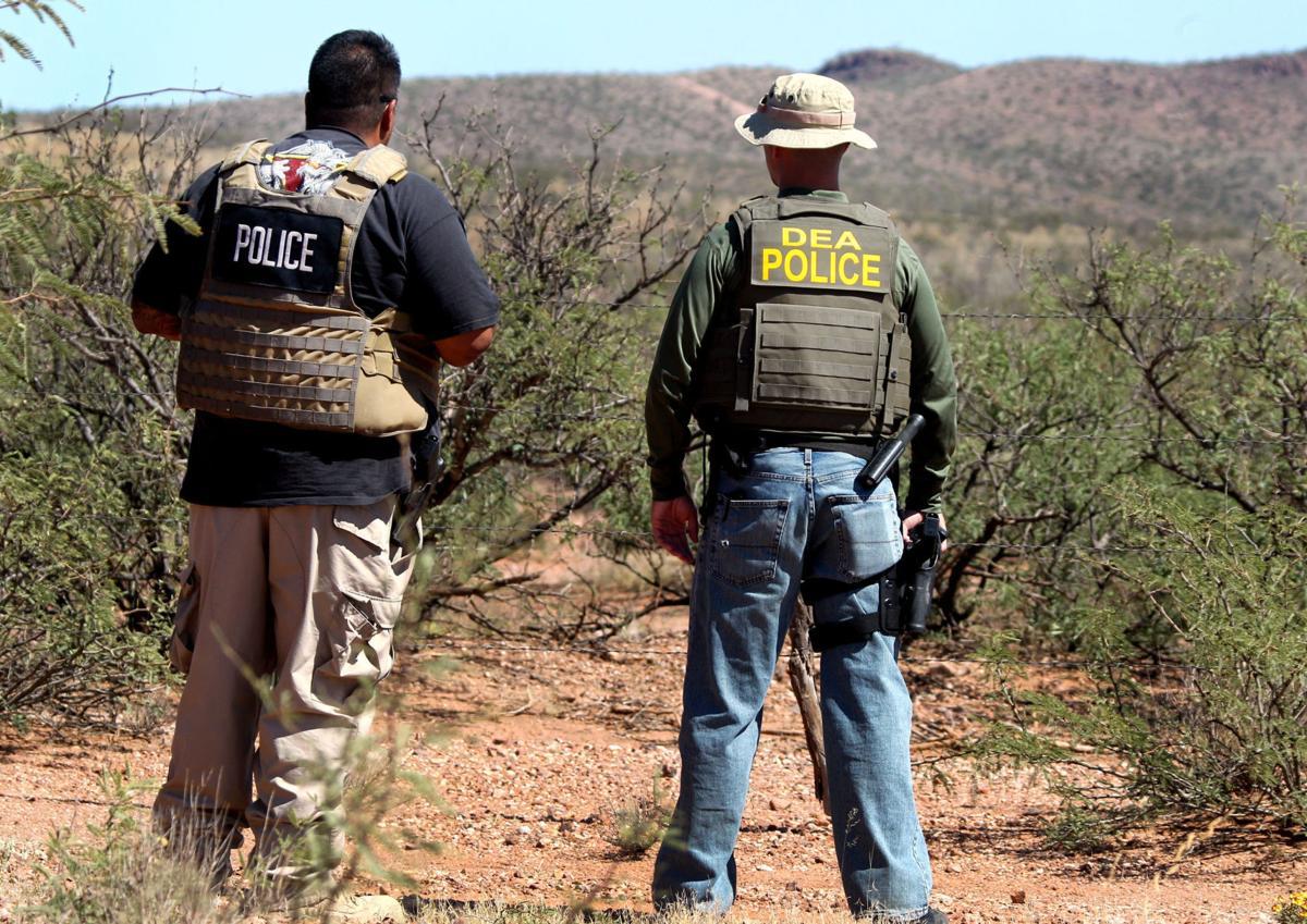 Border probe in rugged territory