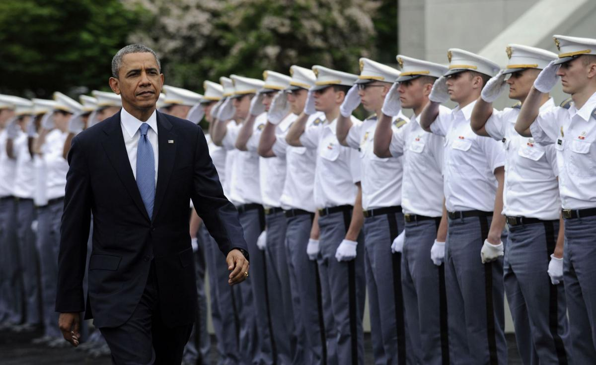 Obama: US must lead globally but show restraint