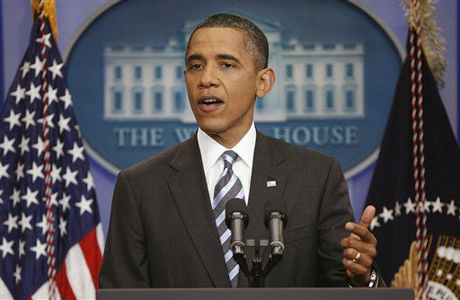 Obama: Chance for 'something big' to calm economy