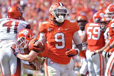 Image result for Travis Etienne Highlight Film Against Woolford