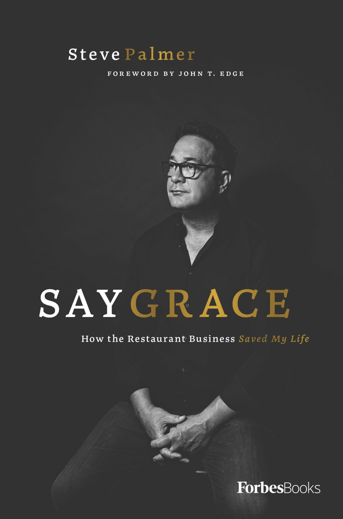PRINT SECONDARY Say Grace book cover