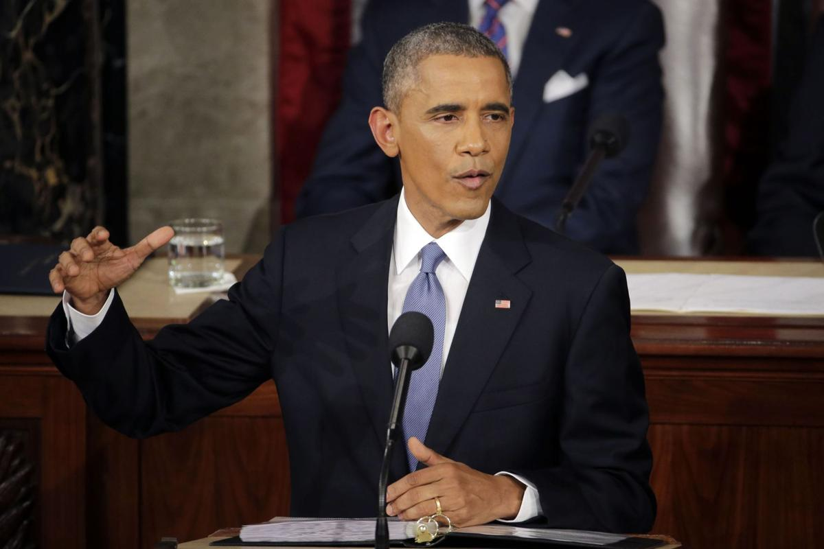 Obama vows fight for nation's middle class Seeks tax hikes for rich, plans to veto GOP plans to undo his reforms