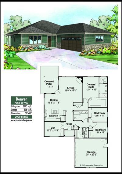 This week's house plan Denver 30-952
