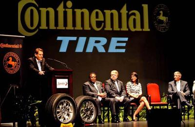 State To Get 1 600 Jobs Continental Tire Will Build 500 Million