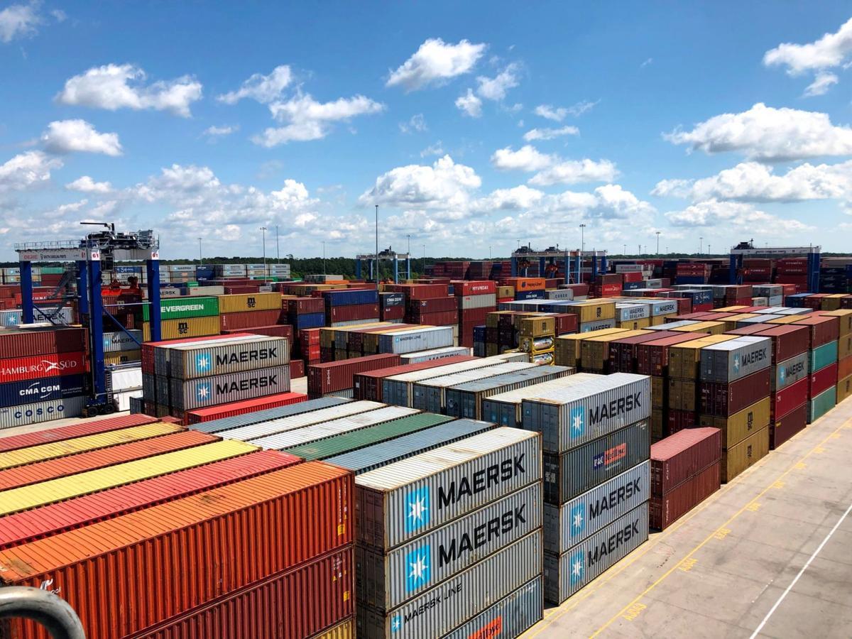 Cargo boxes at Wando Welch (copy)