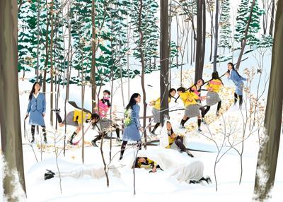 Mimi Kato - Snowy Woods