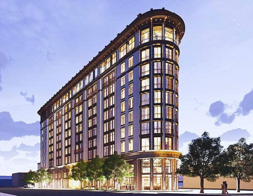2 Meeting Street hotels, including Charleston's 1st 'flatiron' building get design OK