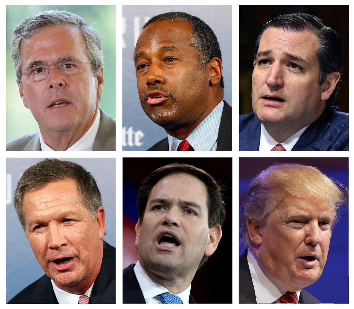 Best-case, worse-case scenarios for the GOP presidential hopefuls
