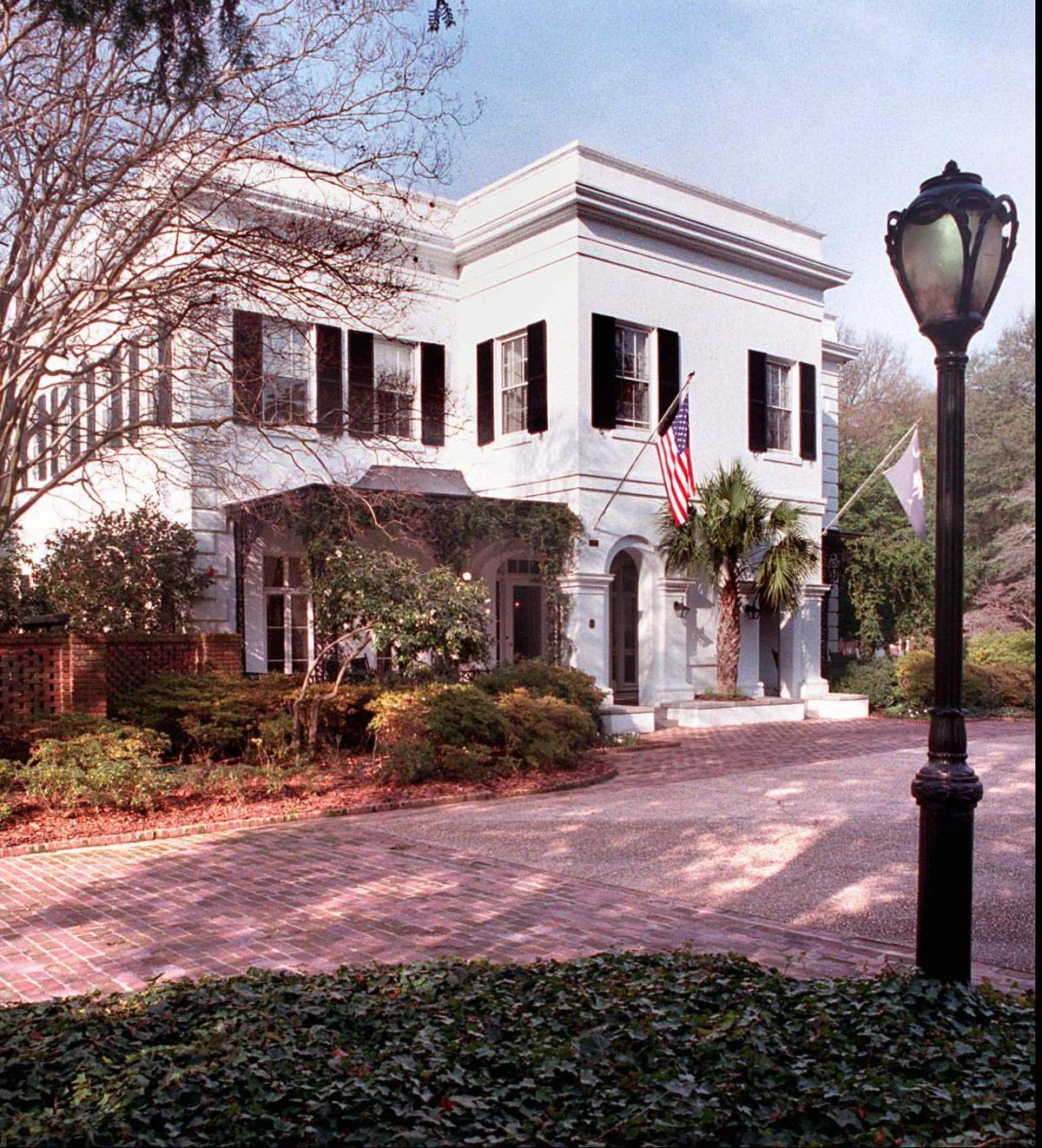 SC Governor's mansion safely evacuated for fire