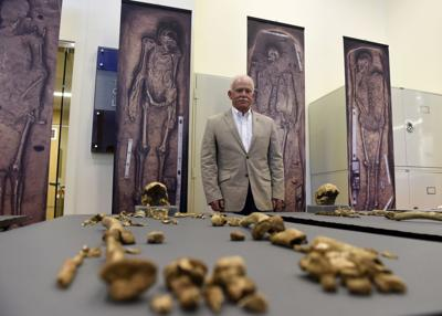 Remains of Colonial Jamestown leaders found