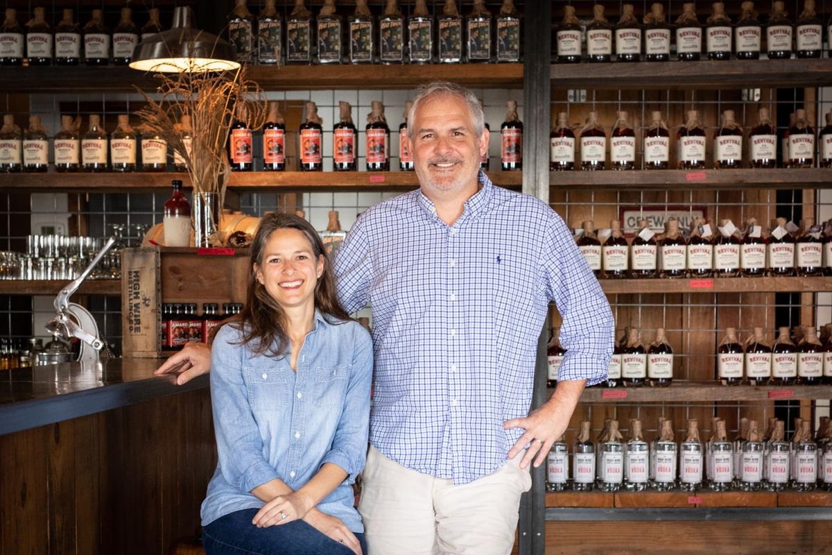 Ann Marshall and Scott Blackwell of High Wire Distilling Co. (copy)