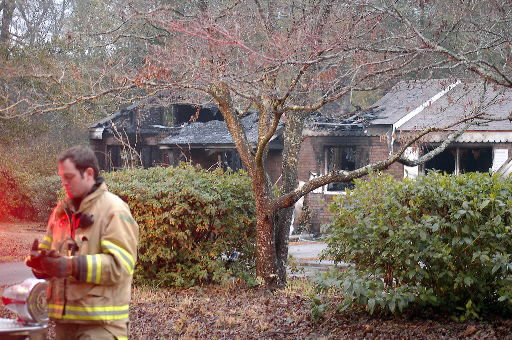 Two taken to hospital after James Island fire