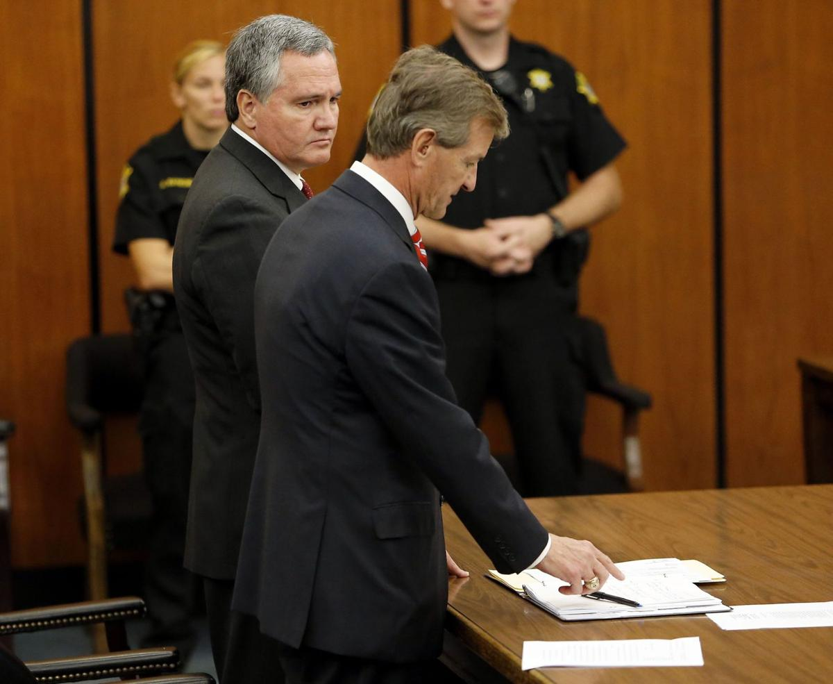Bobby Harrell pleads guilty to 6 counts, resigns from House seat No details on reimbursements Harrell repaid self from campaign fundsHarrell planning to plead guilty Palmetto Sunrise: Harrell's hearing and looming resignation