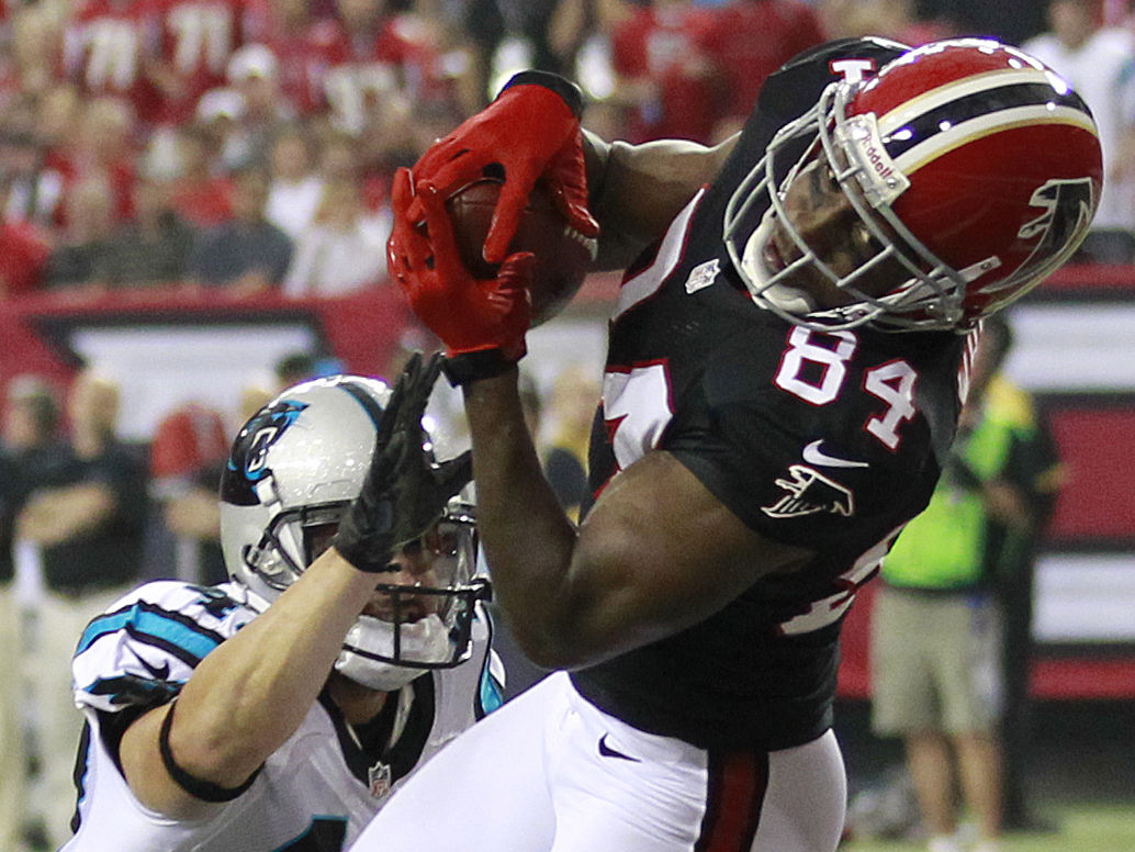 Falcons slip past Panthers