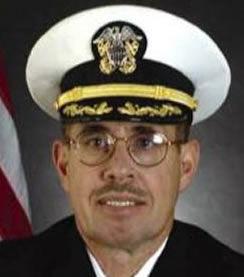 Navy captain in pre-trial program