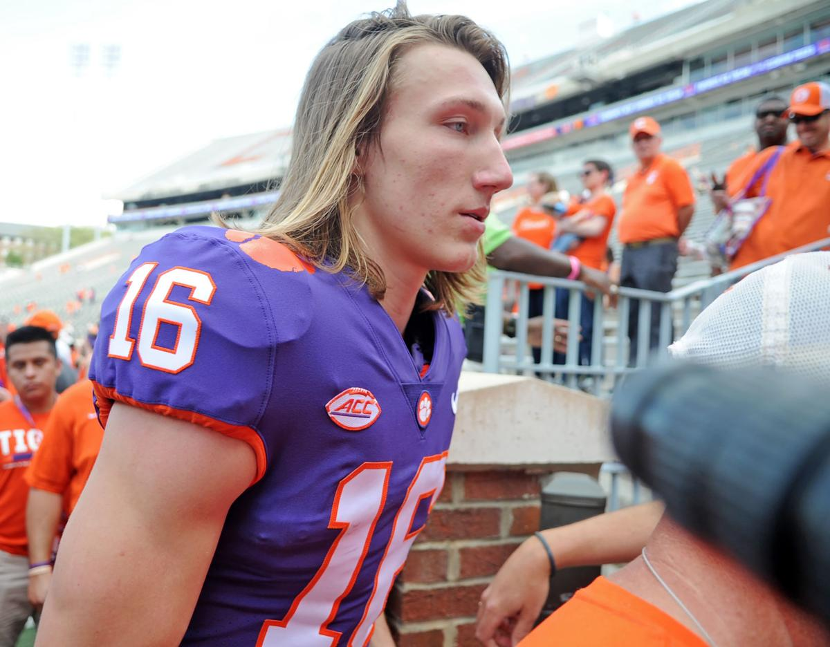 new product 5f46e e0558 Clemson football Top 10: The Trevor Lawrence hype machine is ...