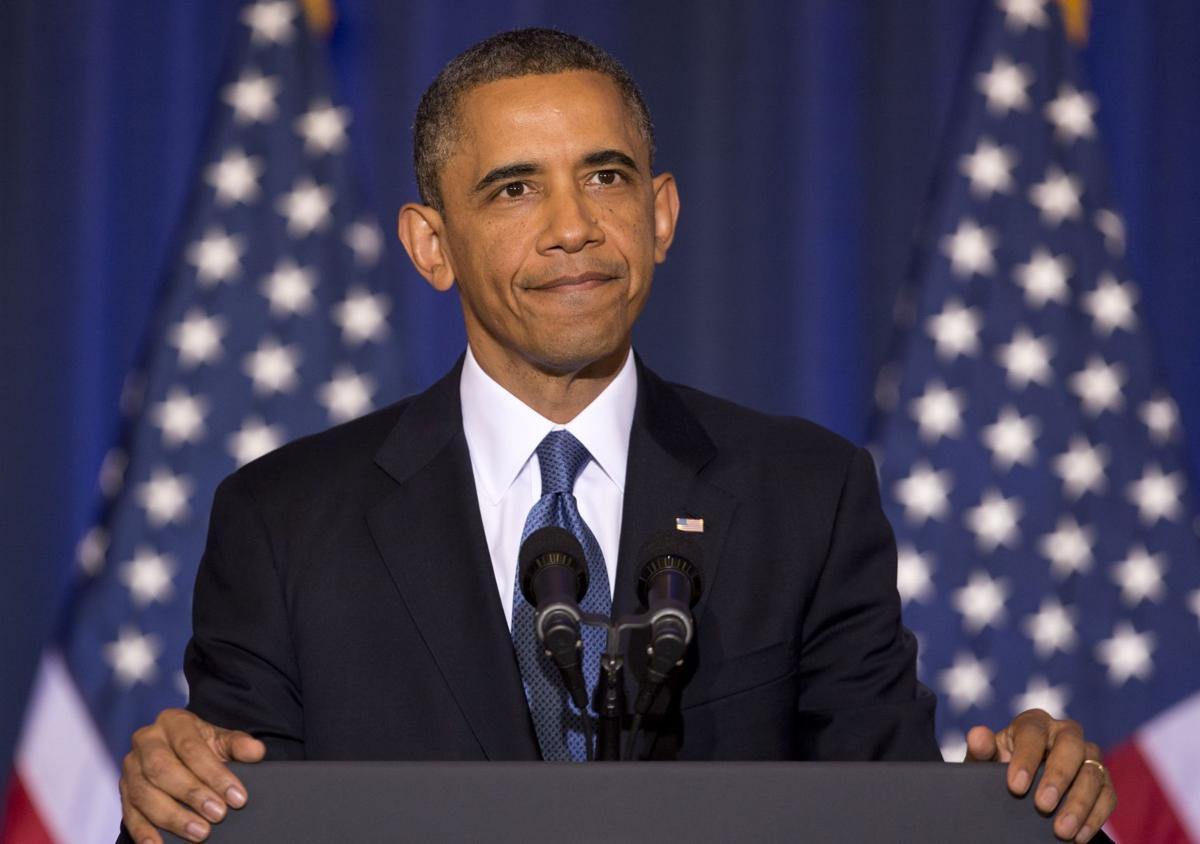 Obama says terror threats shrinking