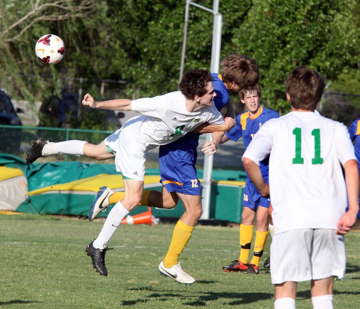 Lexington vs. Summerville soccer