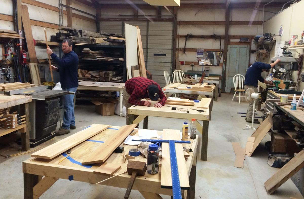 woodworking's comeback? charleston school, guild hope to
