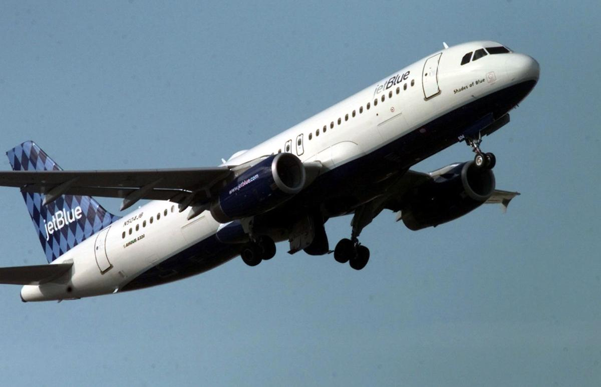 JetBlue will fly into town Direct flights to, from N.Y., Boston
