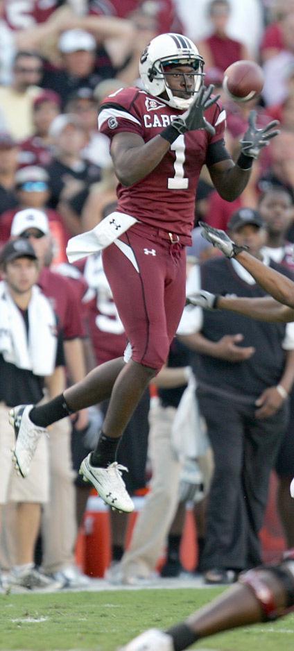 Wide receiver Alshon Jeffery makes return to Gamecocks practice