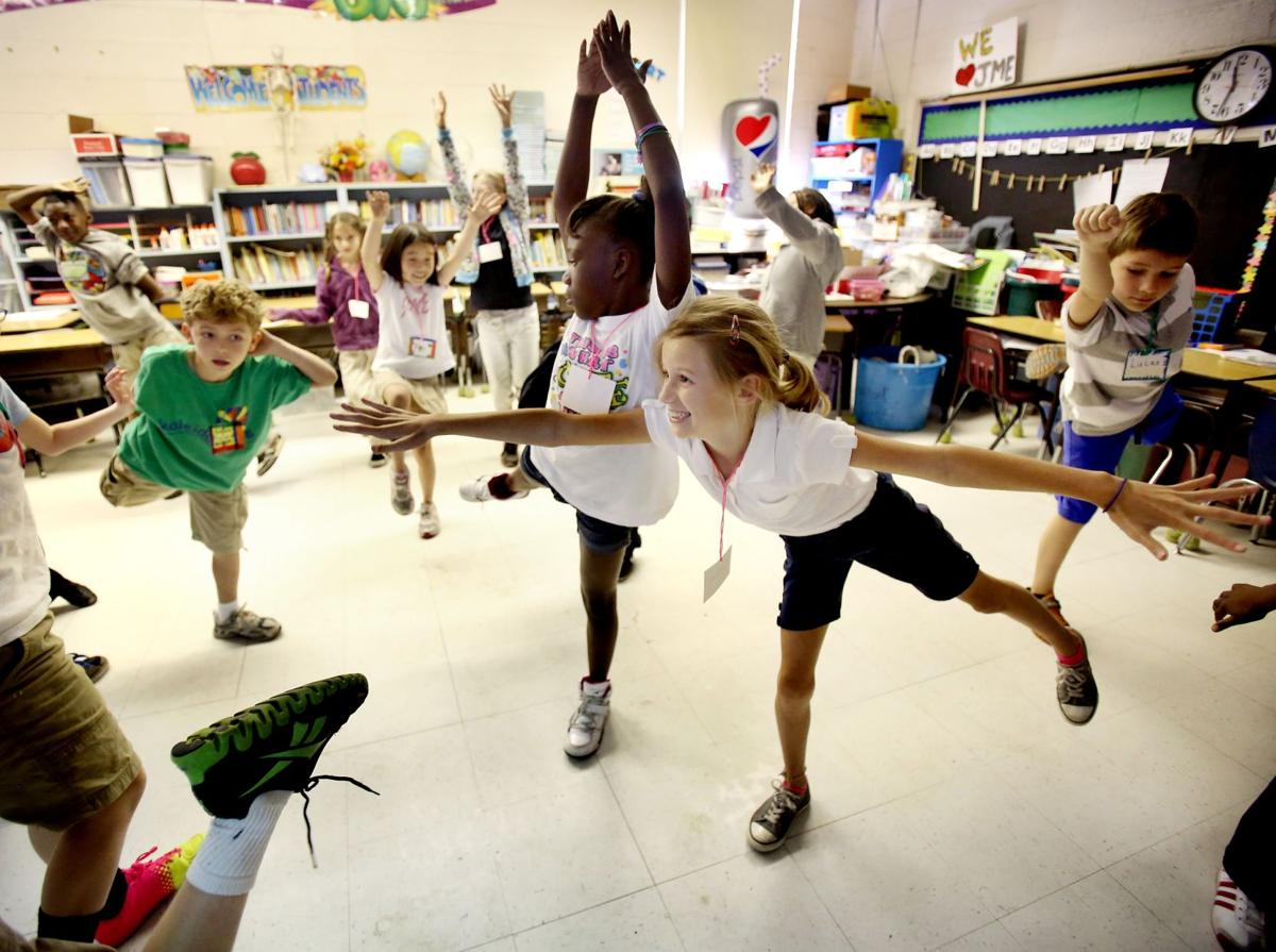 T he art of learning 8 local elementary schools test pilot program to bolster lessons