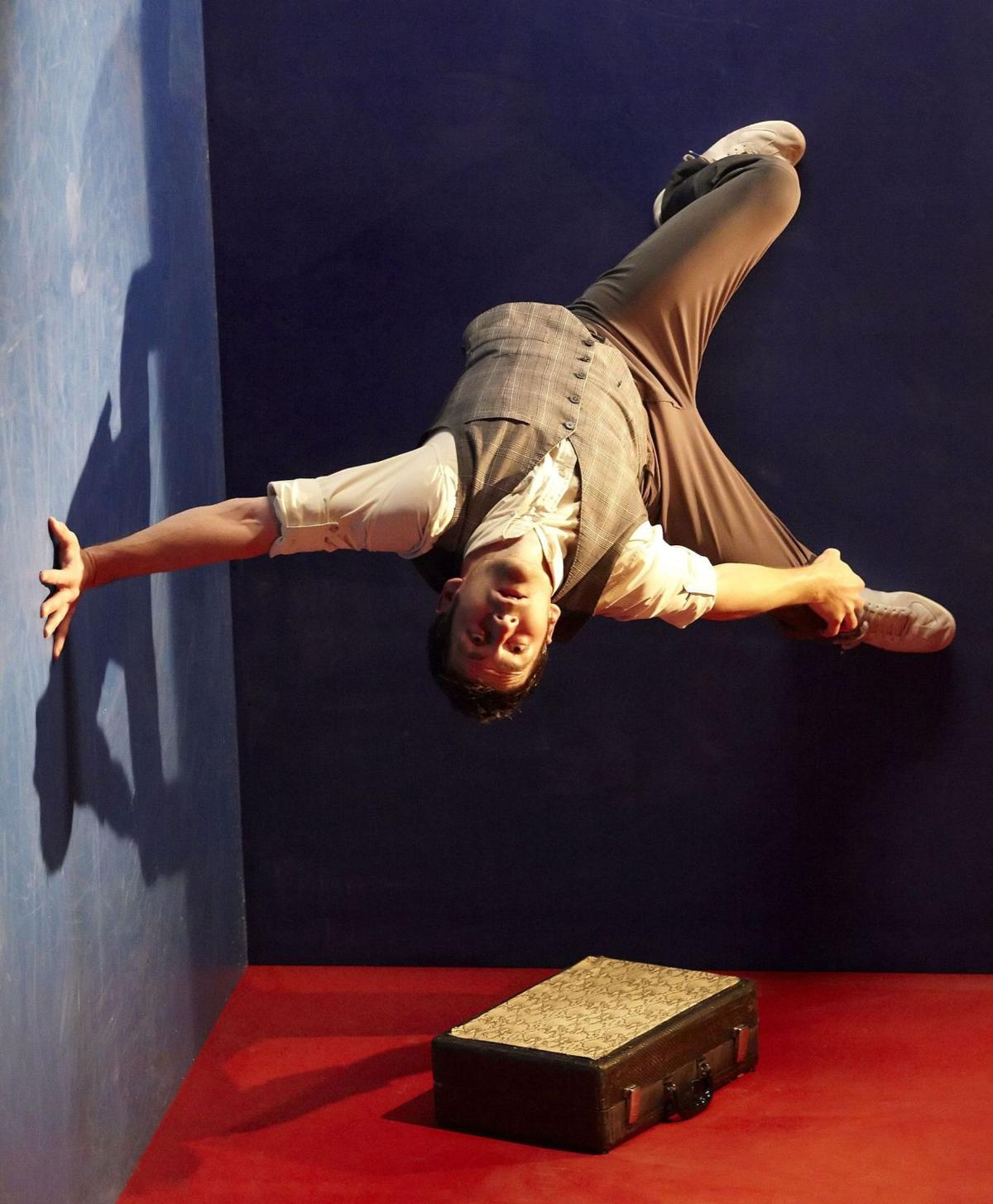 'Leo' a demanding show for former acrobat