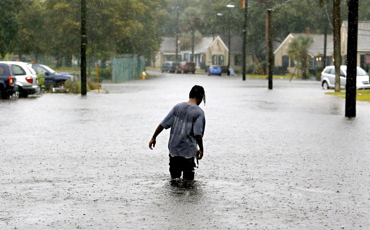 Lede 5 year 1000 flood