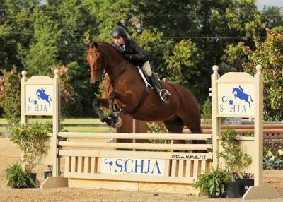Chipper Smith an equestrian champ