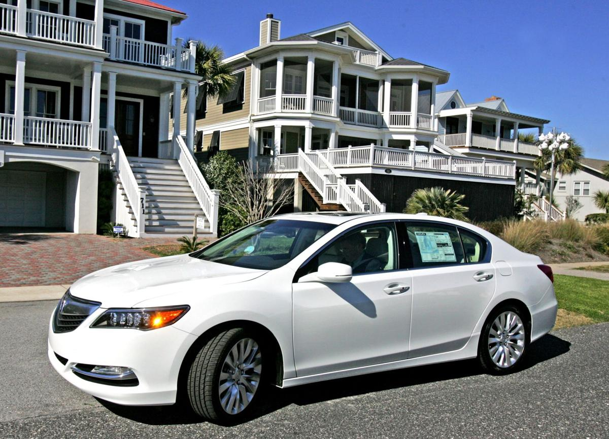 Accurate Move: Japanese luxury carmaker goes all out in designing, promoting 'flagship' RLX sedan